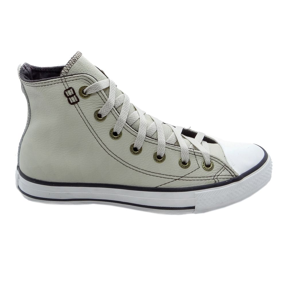 49fae209685 Tênis Converse All Star CT As European Hi Bege - Espaco Tenis