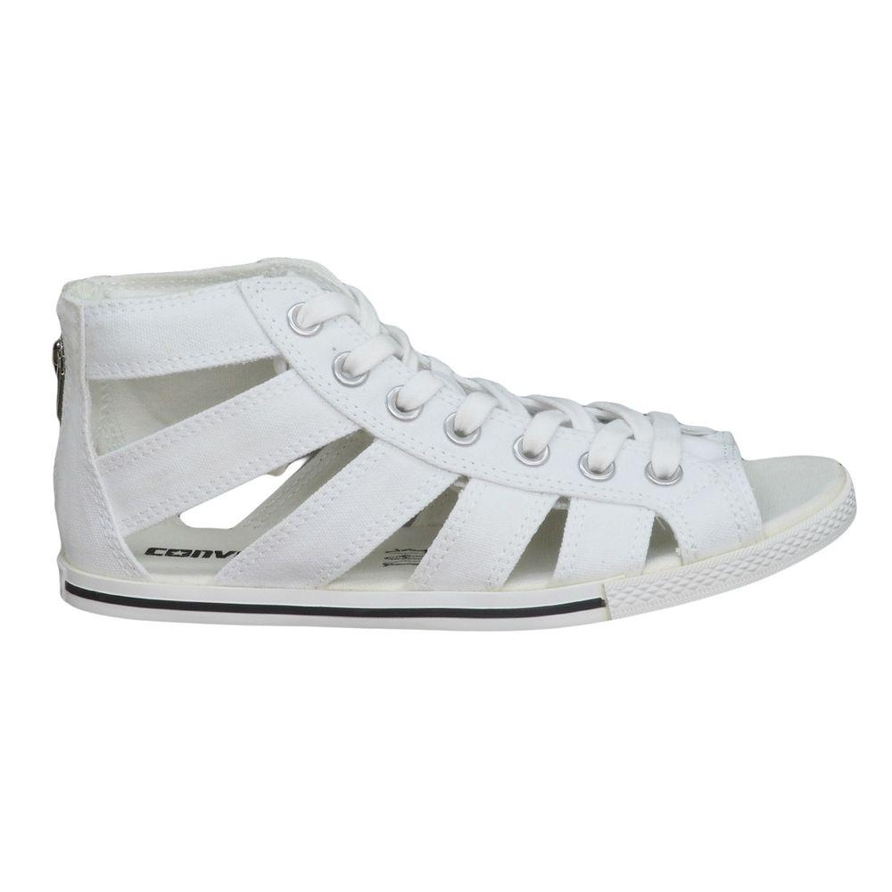 2151090fb160 Tênis Converse Chuck Taylor All Star Gladiator Mid White - Espaco Tenis