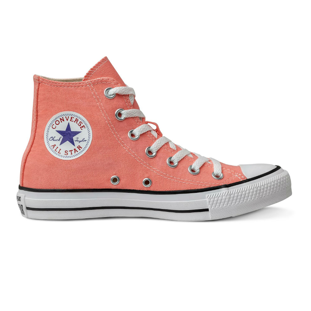 Tênis Converse Chuck Taylor All Star Laranja Fluor