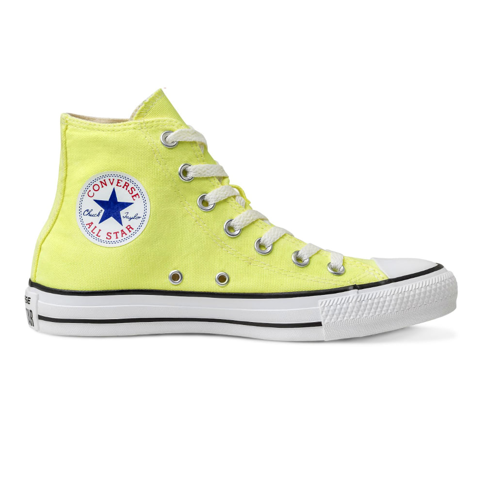 e6ab8cc260 Tênis Converse Chuck Taylor All Star Verde Fluor. Cód: CT04190021.33.  Opinião dos Consumidores:0. Teste. Novidades. Black Friday. fluor2