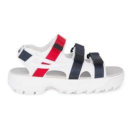 Sandalia-Fila-Disruptor-Branco-Marinho-Vermelho
