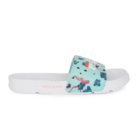 Chinelo-Fila-Drifter-Flower-Feminino-Azul-Claro-Coral-Branco