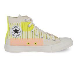 Converse-Chuck-Taylor-All-Star-Bege-Claro-Verde-Fluor-Amendoa--1-