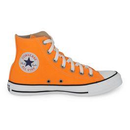 Chuck-Taylor-All-Star-Cano-alto-Laranja-Fluor-Preto-Branco