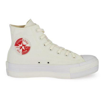Converse-Chuck-Taylor-All-Star-Cano-Alto-Amendoa-Vermelho-Branco