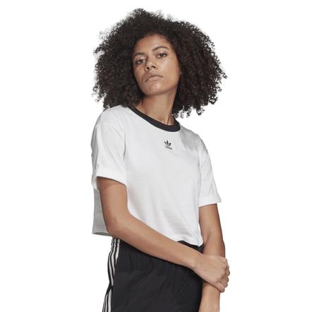 Adidas-Camiseta-Cropped-Branco