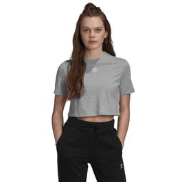 Camiseta-Cropped-Adidas-Cinza