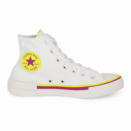Converse-Chuck-Taylor-Cano-Alto-All-Star-Branco-Verde-Fluor-Amendoa