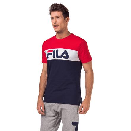 Camiseta-Fila-Marinho-Branco-Vermelho