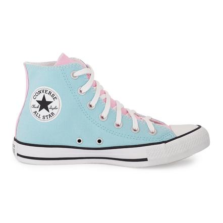 Converse-Chuck-Taylor-Cano-Alto-All-Star-Azul-Bebe-Lilas-Brilhante-Bran