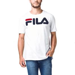 Camiseta-Fila-Letter-Branco